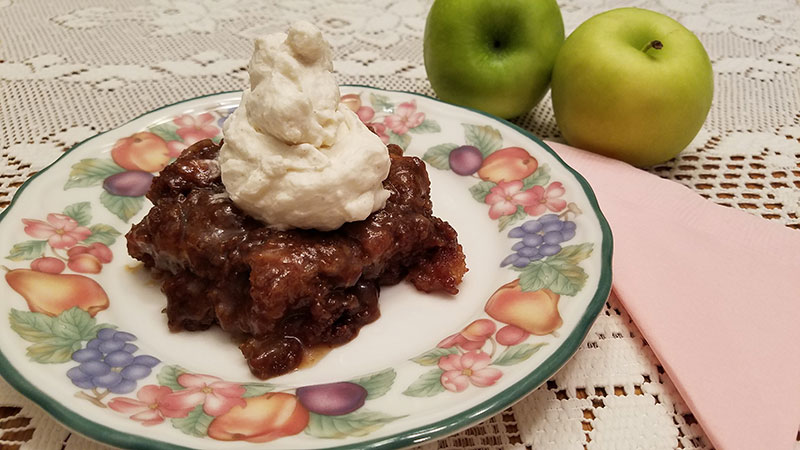 Chopped Apple Cake - Hopelessly Hopeful Blog