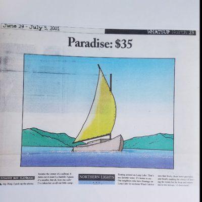 Paradise: $35.00