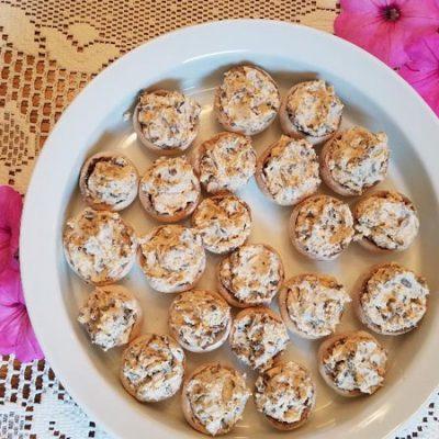 Mouthwatering Stuffed Mushrooms