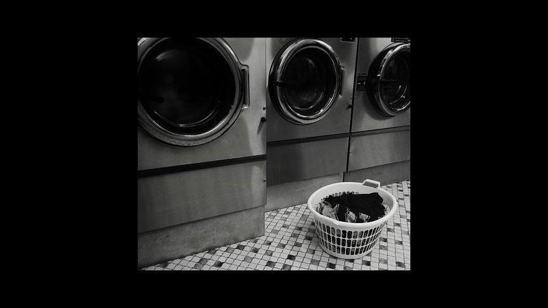 Lingering Laundry Lady