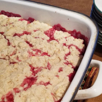 Cherry Cobbler for a Crowd