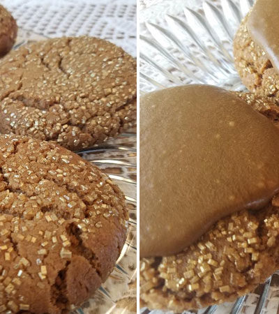 Giant Molasses Cookies