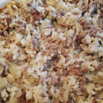 Grandma Kenyon's Hamburger Rice